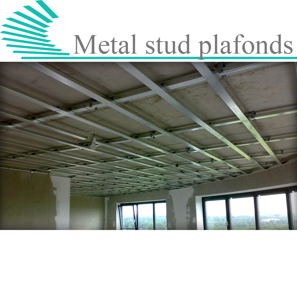 Metal stud plafonds